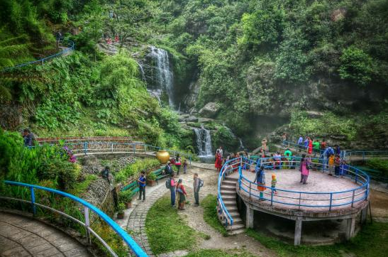 This Rock Garden Is Not A Conventional One, With The Waterfall And Its  Man Made Lake As The Main Attraction, As Well As Its Various Viewpoints For  ...